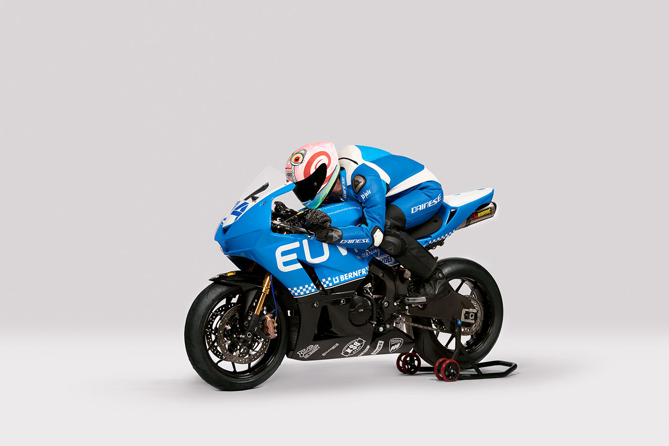 fotografía de motociclismo Piotr Biesiekirski moto2 champion by Jose Camacho
