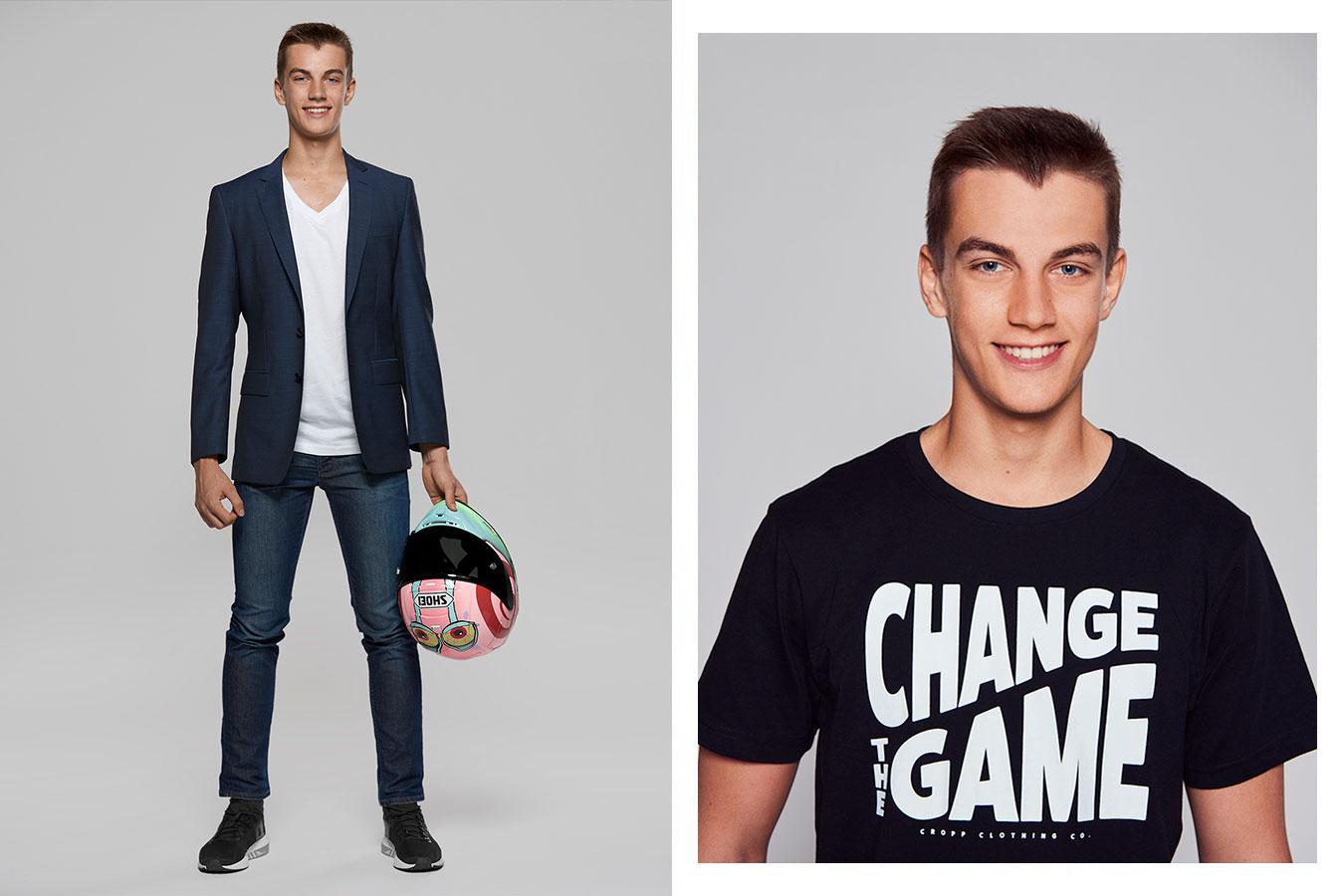 Piotr Biesiekirski by Jose Camacho, Fashion Men Editorial Photographer